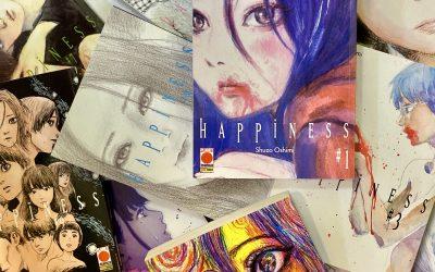 Recensione di Happiness, Shuzo Oshimi a cura di Irene Pannuto (Mondi Paralleli)
